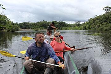 Cuyabeno Paddle Tour