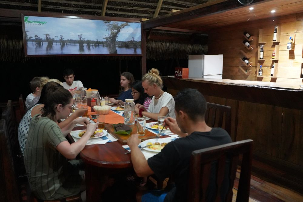 Dining in Amazon