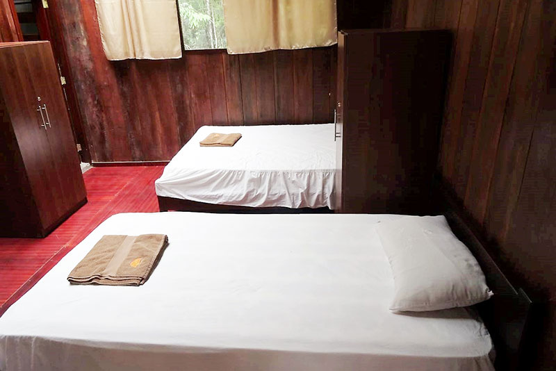 Amazon Ecuador Family Rooms