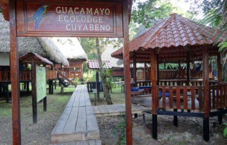 Guacamayo Ecolodge Entrance